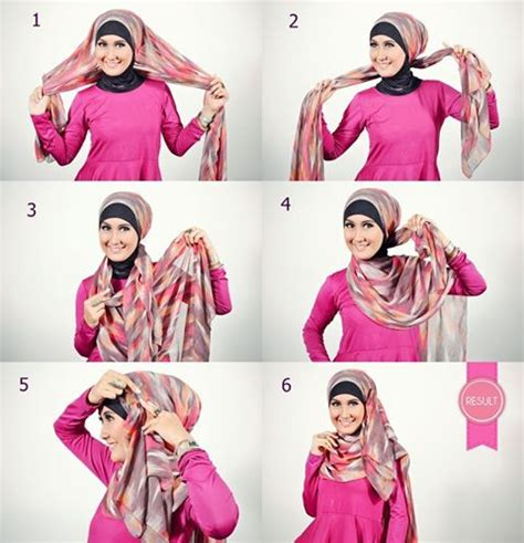 tutorial hijab simple n modern amiihong s blogs tutorial hijab simple