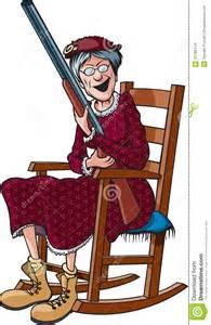 Rockin Chair Rockin Granny Stock Images Image 31789114