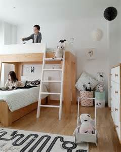 Kids Small Bedroom Ideas kids rooms scandinavian style bunk bed for small space 2 beds in small