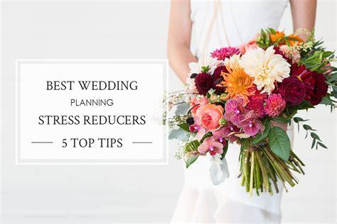 5 Wedding Planning Stress Reducers