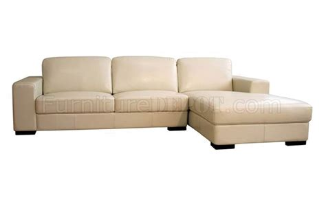ivory leather sofa modern sectional sofa in ivory leather