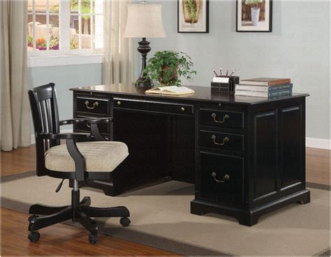 Black Office Chair Design Ideas Modern Black Wooden Desk Chair Ideas Interior Design Ideas