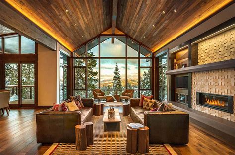 resort home design interior mountain modern ski retreat with breathtaking views in lake tahoe