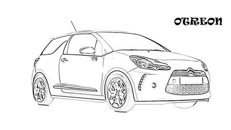 exotic cars printable coloring page  kids