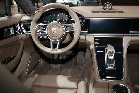 porsche panamera 2017 interior porsche confirms mid engine 911 rsr at l a debut