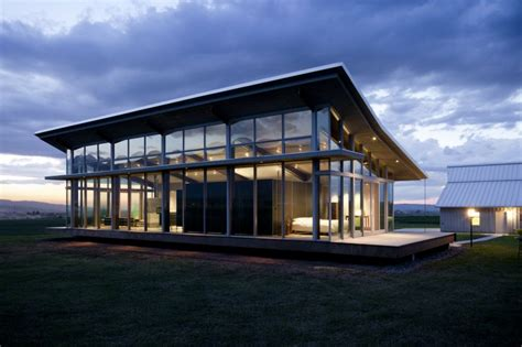 design management for architects glass farmhouse design by olson kundig architects