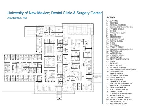 ambulatory surgery center floor plans annotated floor plan architecture pinterest floor