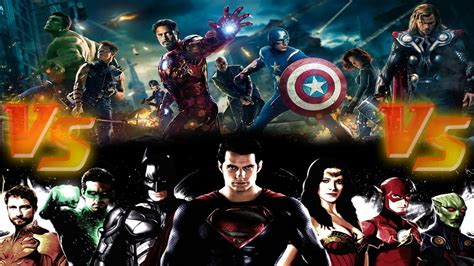 film marvel vs dc marvel vs dc cinematic universe s movies explained
