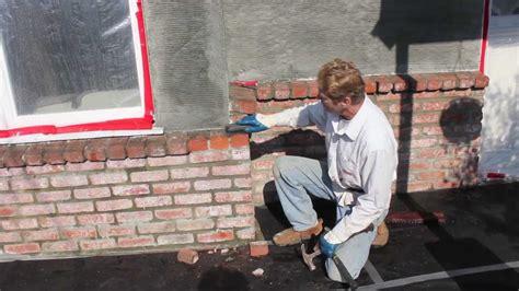 stucco  brick walls youtube