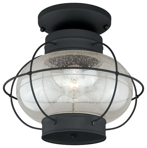 chatham 13 quot outdoor semi flush mount light style