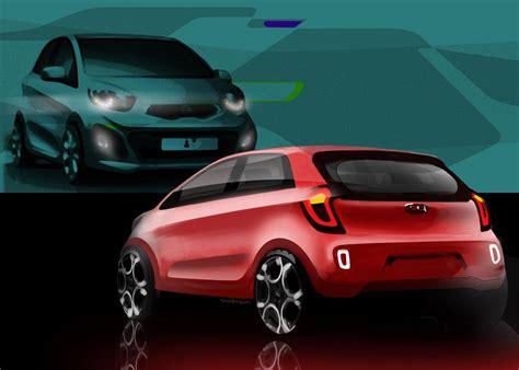 Kia Company Profile Kia Releases New Picanto Sketches Autoevolution