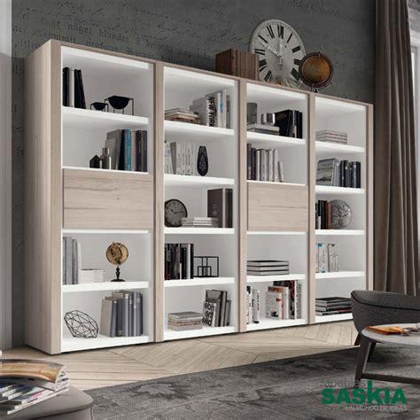 librerias salon librer 237 as sal 243 n muebles saskia en plona