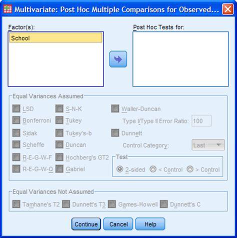 spss tutorial multivariate analysis one way manova in spss statistics step by step procedure