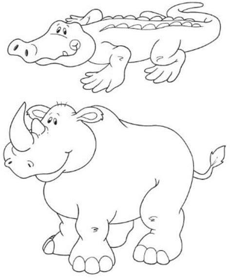 imagenes de animales de la selva para imprimir dibujos de animales de la selva para imprimir y colorear