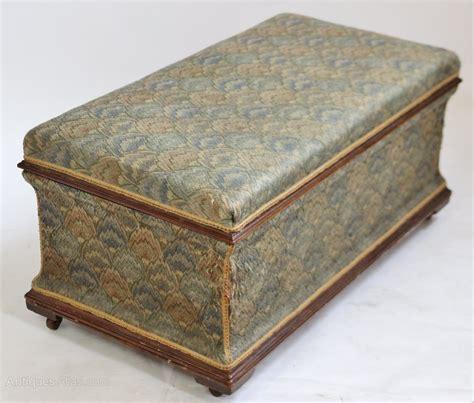 Antique Ottomans Mahogany Box Ottoman Stool Antiques Atlas
