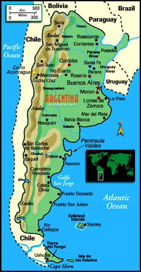 map of argentina with cities fonisol s comprehensive travel guide to buenos aires