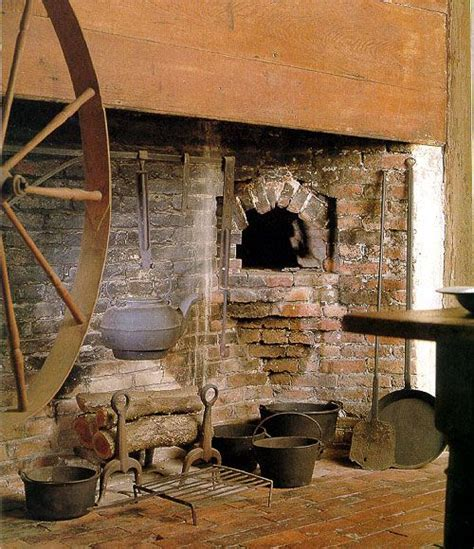kitchen of the coffin house in newbury massachusetts great