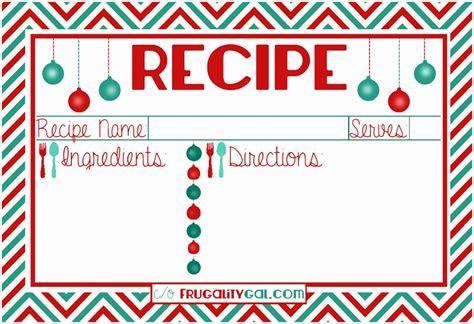 z card template free 12 recipe cards free templates etiap templatesz234