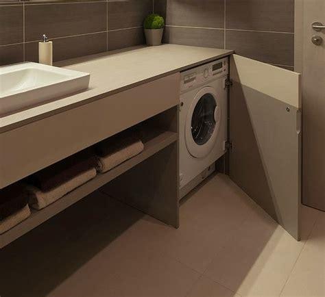 Nascosta Bagno by Mobile Bagno Con Lavatrice Sotto Piano Nascosta Da Anta A