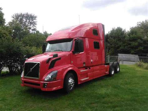 2014 volvo semi volvo vnl64t780 2014 sleeper semi trucks