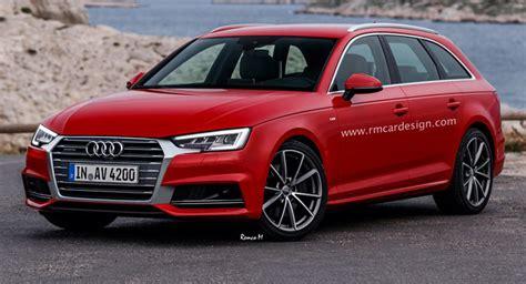 Neuer Audi A4 Avant by All New Audi A4 Avant B9 Facelift Rendered Already