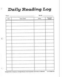 4th grade reading log template ms lippincott s fourth grade class reading log