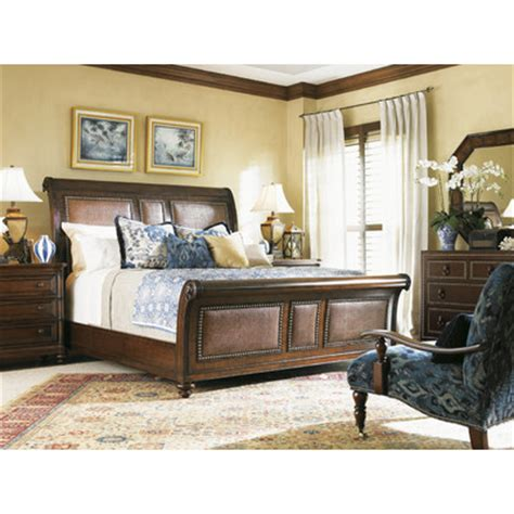 tommy bahama bedroom sets tommy bahama home landara sleigh customizable bedroom set