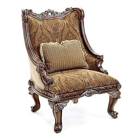 Accent Sitting Chairs Bt 062 Classical Italian Mahogany Accent Arm Chair
