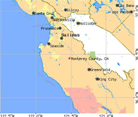 california map monterey county map of monterey county california california map