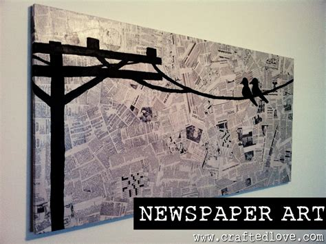 Make A News Paper - diy newspaper allison affourtit