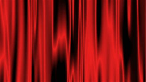 red satin curtains old fashioned elegant theater stage with velvet curtains