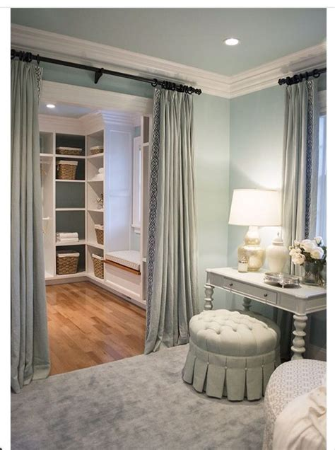 curtains on closets 17 best ideas about closet door curtains on pinterest