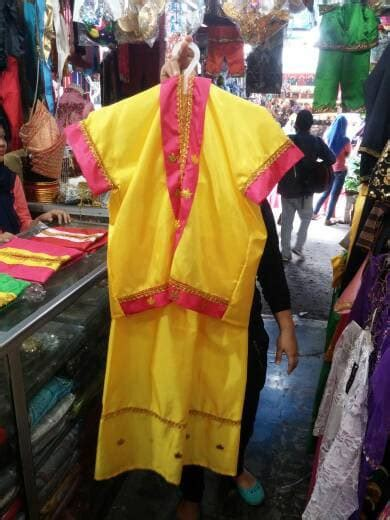 Termurah Baju Bodo Pakaian Adat Bodho Anak Perempuan Tk Sd jual baju adat bodo sulawesi selatan anak perempuan ramanda store