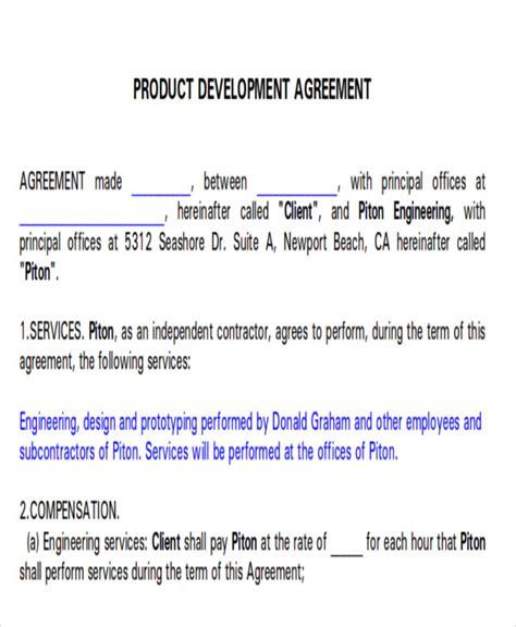 beautiful business development agreement template templates design