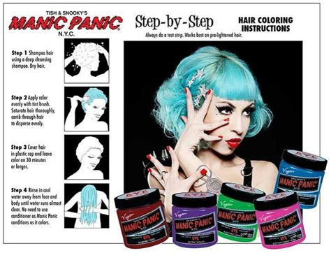 hair dye continued the truth about manic panic bonzai 34 best images about manic panic on pinterest manic