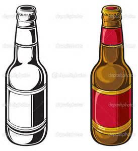 beer vector vintage beer bottle clip art