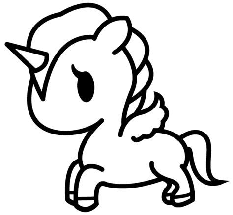 tokidoki unicorno coloring pages
