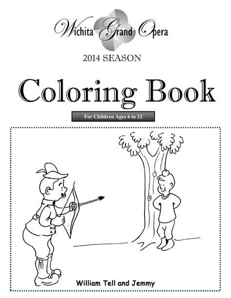 coloring book release wichita grand opera launches children s competition