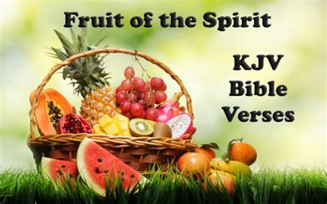 fruit of the spirit kjv kjv bible verses about fruit of the spirit