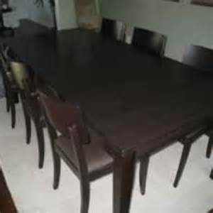 crate barrel dining table and from krrb local