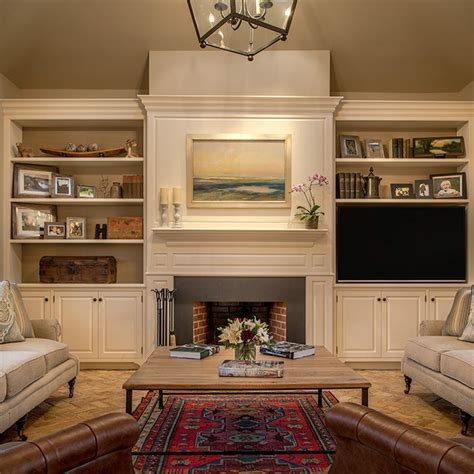tv in dining room 20 best images about fireplace and bookshelves on