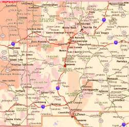 and new mexico map with cities map of new mexico road conditions counties cities map