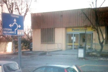 ufficio postale ivrea rivarolo colpo alle poste di corso italia