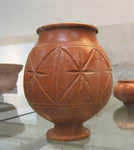 images of pottery file roman pottery central gaulish samian jar jpg