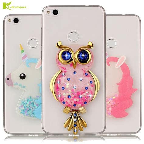 Samsung A3 2016 3d Motif Animated Fashion Animasi unicorn glitter liquid sfor coque huawei p8 lite 2017 cover dynamic owl phone