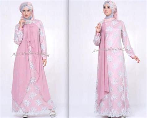 model baju bordir pesta koleksi zalora terbaru 2015 15 model baju gamis muslim pesta terbaru 2018