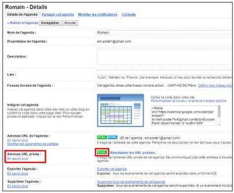Calendrier Gmail Partager Des Agendas Entre Outlook Et Gmail