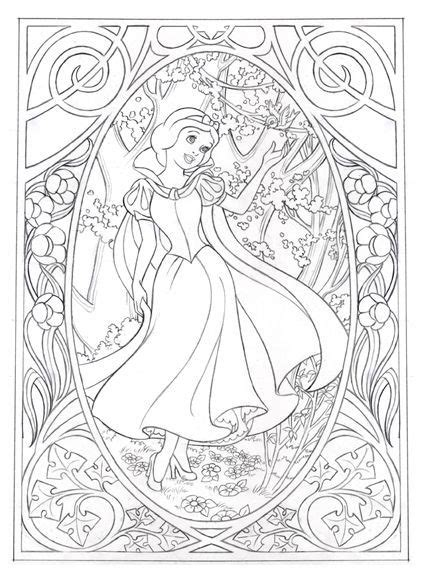 disney coloring pages for adults jennifer gwynne oliver illustration product design