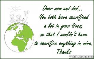 Thank You Letter To Parents On My Birthday Thank You Notes For Parents Messages For Mom And Dad