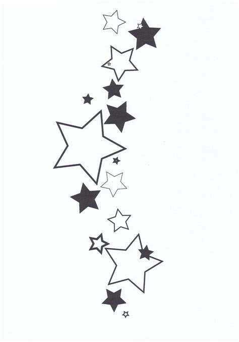 negative stars tattoo designs tattoos designs ideas and meaning tattoos for you